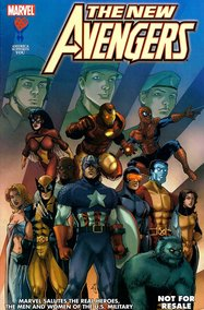 New Avengers: American Armed Forces Exclusive #3
