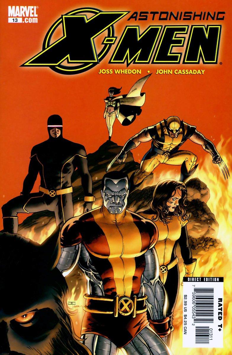 Astonishing X Men 2004 13 Cover