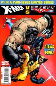 X-Men Vs. Agents of Atlas (2009) #1