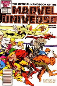 Official Handbook Of The Marvel Universe - Deluxe Edition (1985) #14