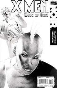 X-Men Noir: Mark of Cain (2009) #3 cover