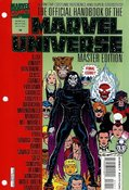 Official Handbook of the Marvel Universe Master Edition #36 cover