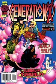 Generation X (1994) #18 cover