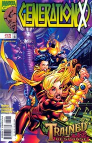 Generation X (1994) #39 cover
