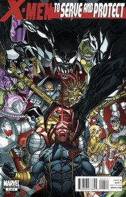 X-Men: To Serve and Protect (2010) #4