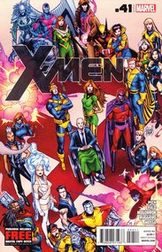 X-Men (2010) #41 Cover