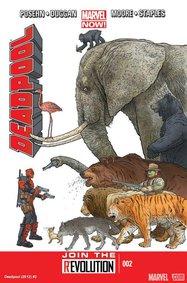 Deadpool (2012) #2 cover