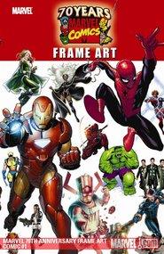 Marvel 70th Anniversary Frame Art #1