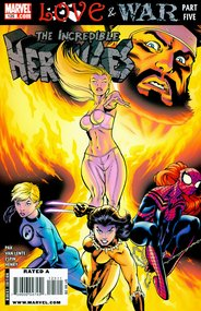 Incredible Hercules (2008) #125 cover