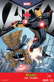 A+X (2012) #17 cover