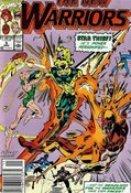 New Warriors (1990) #5 cover