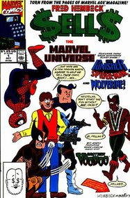 Fred Hembeck Sells the Marvel Universe (1990) #1