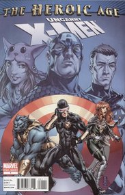 Uncanny X-Men: The Heroic Age (2010) #1