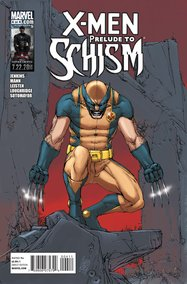 X-Men: Prelude to Schism (2011) #4 cover
