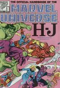 Official Handbook Of The Marvel Universe #5 cover