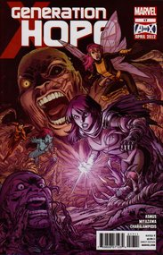 Generation Hope (2010) #17 cover