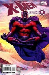 Uncanny X-Men (1963) #521 cover