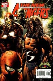 The New Avengers (2005) #8
