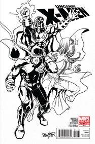 Uncanny X-Men #543 BW Variant