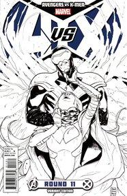 Avengers vs X-Men #11, Pichelli Sketch Variant