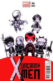 Uncanny X-Men (2013) #1 Variant (Skottie Young)