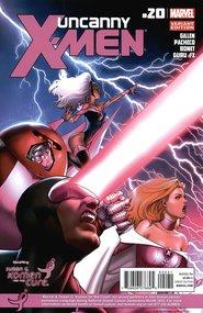 Uncanny X-Men #20 David Marquez, Breast Cancer Awareness variant