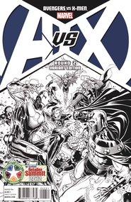 Avengers vs X-Men #2, Black and White Variant