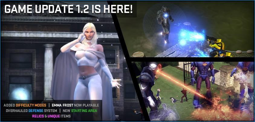 Emma Frost arrives on Marvel Heroes