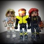 Emma, Cyclops, and Jean minimates