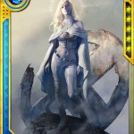 Emma Frost cards in 'Marvel War of Heroes'