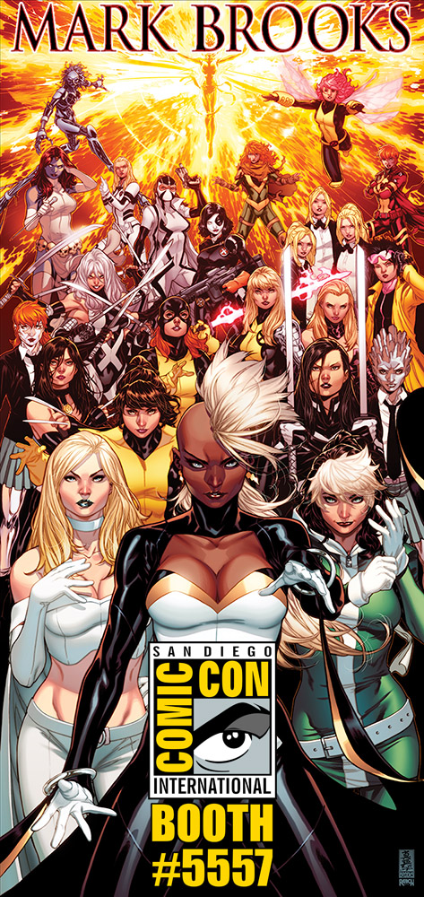 X-Women by Mark Brooks