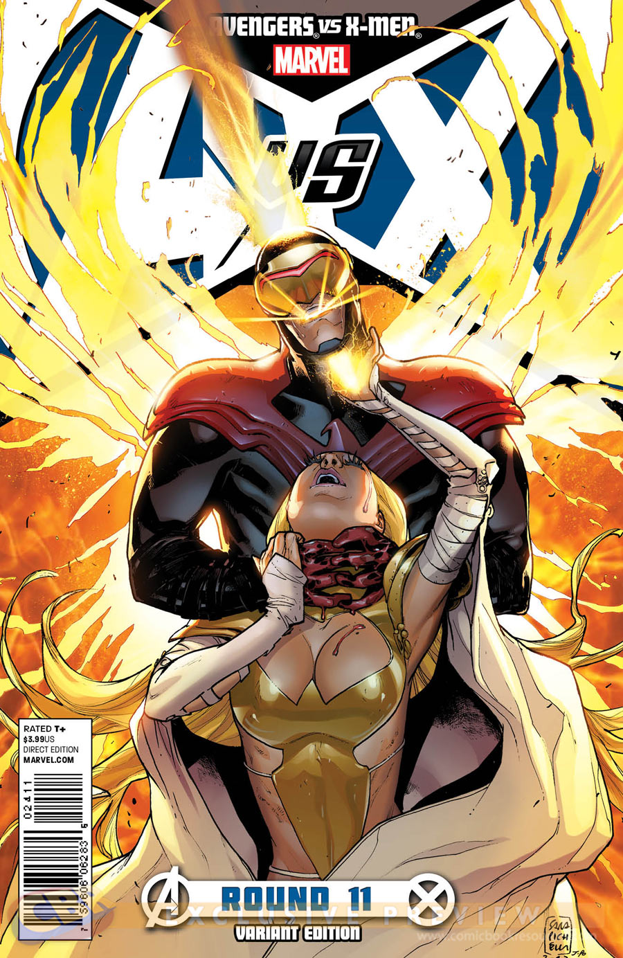 X Men Cyclops And Emma Frost Avengers vs X-M...