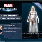 Get Emma Frost in Marvel Heroes' Ultimate Pack