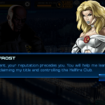[Screenshots] Emma Frost gameplay in 'Marvel: Avengers Alliance'