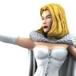 New Emma Frost HeroClix: White Queen and diamond forms!