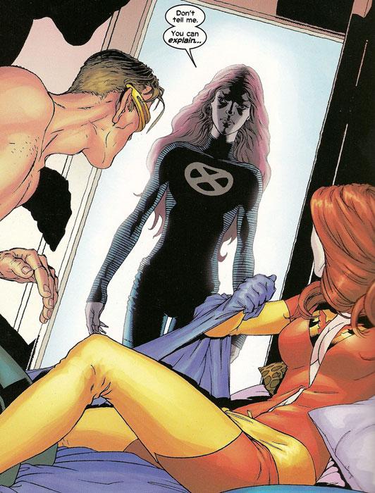 Циклоп и эмма фрост секс