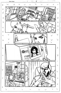 x-men icons emma frost #1, page 8