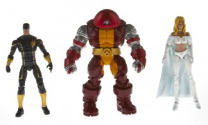 X-Men Team Pack: Cyclops, Colossus, Emma Frost