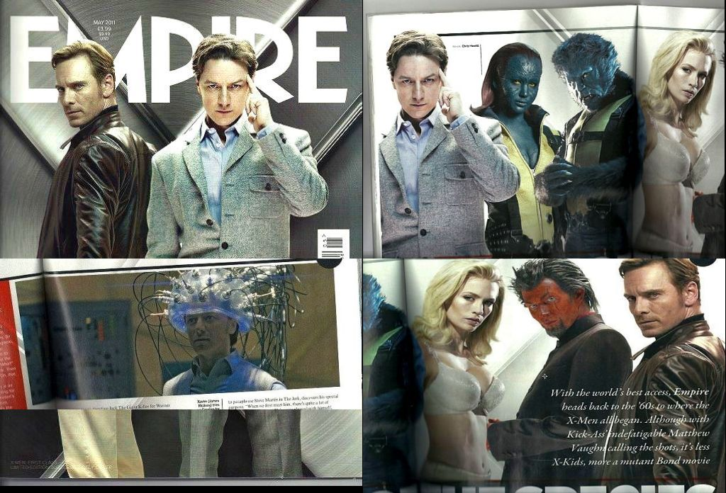 Empire Magazine's New 'X-Men: First Class' Issue