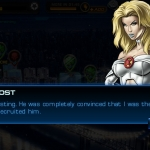 Emma Frost, Avengers Alliance: Blob mission dialogue