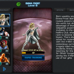 Modern Emma Frost in Avengers Alliance bio