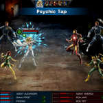 Emma Frost in Avengers Alliance: Psychic Tap 3