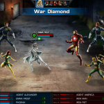 Emma Frost in Avengers Alliance: War Diamond