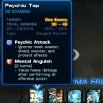 Psychic Tap Stats